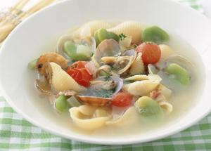 スープ パスタ 簡単